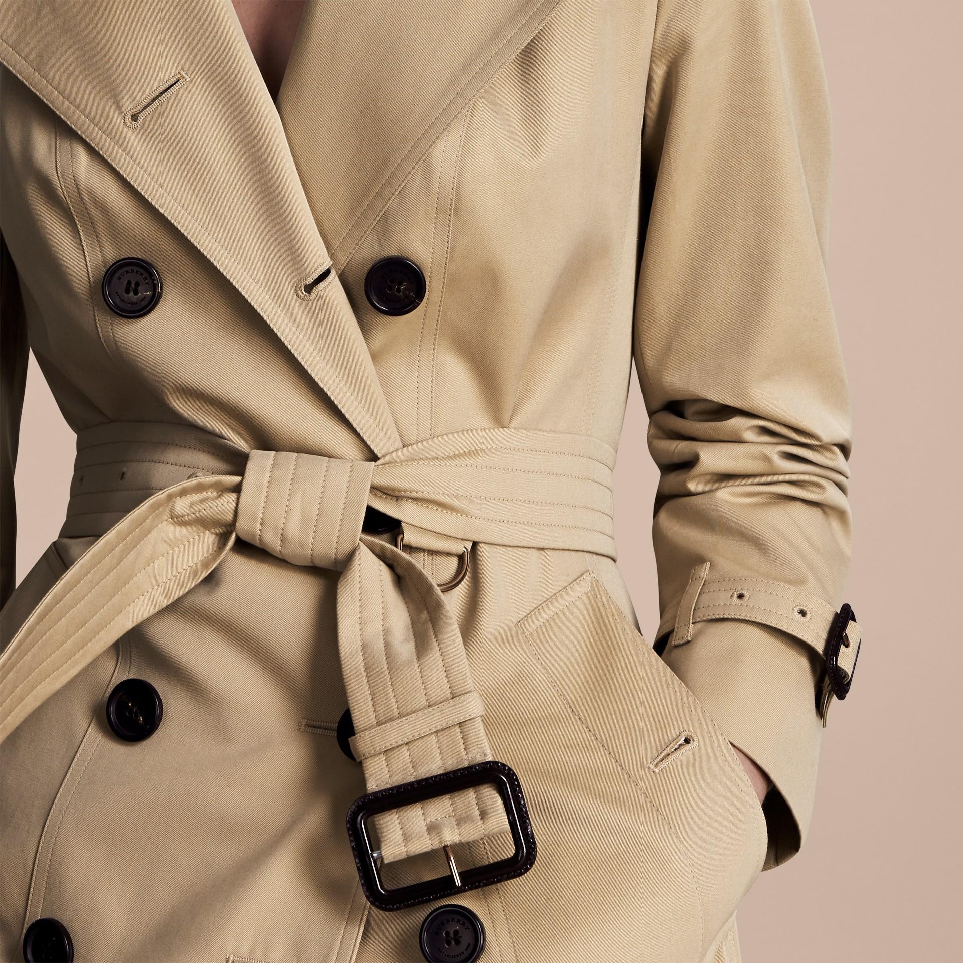 Mel The Kensington - Trench coat Heritage curto Mel - galeria de imagens 5