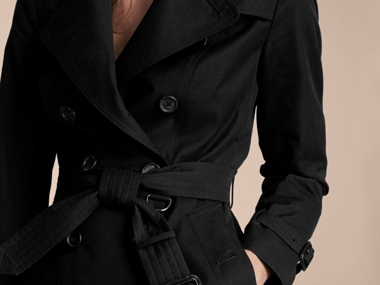 Black The Sandringham – Extra-long Heritage Trench Coat Black - cell image 4