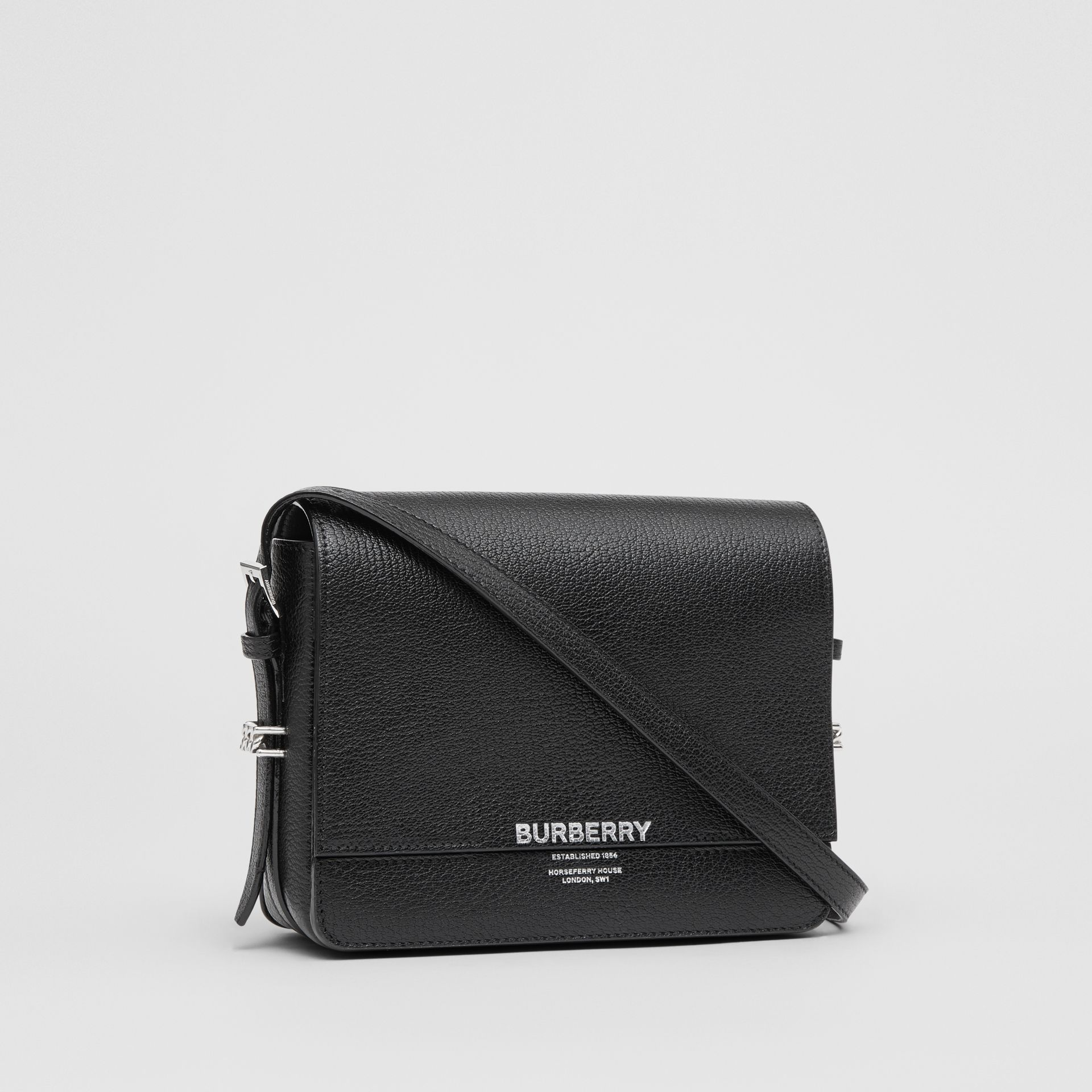 Small Leather Grace Bag in Black - Women | Burberry Hong Kong - gallery image 6