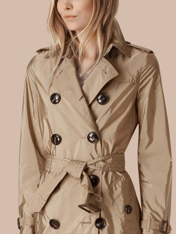 Sisal Lightweight Trench Coat Sisal - cell image 2