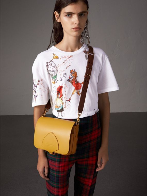 The Satchel 方型包 (松木黃) - 女款 | Burberry - cell image 2