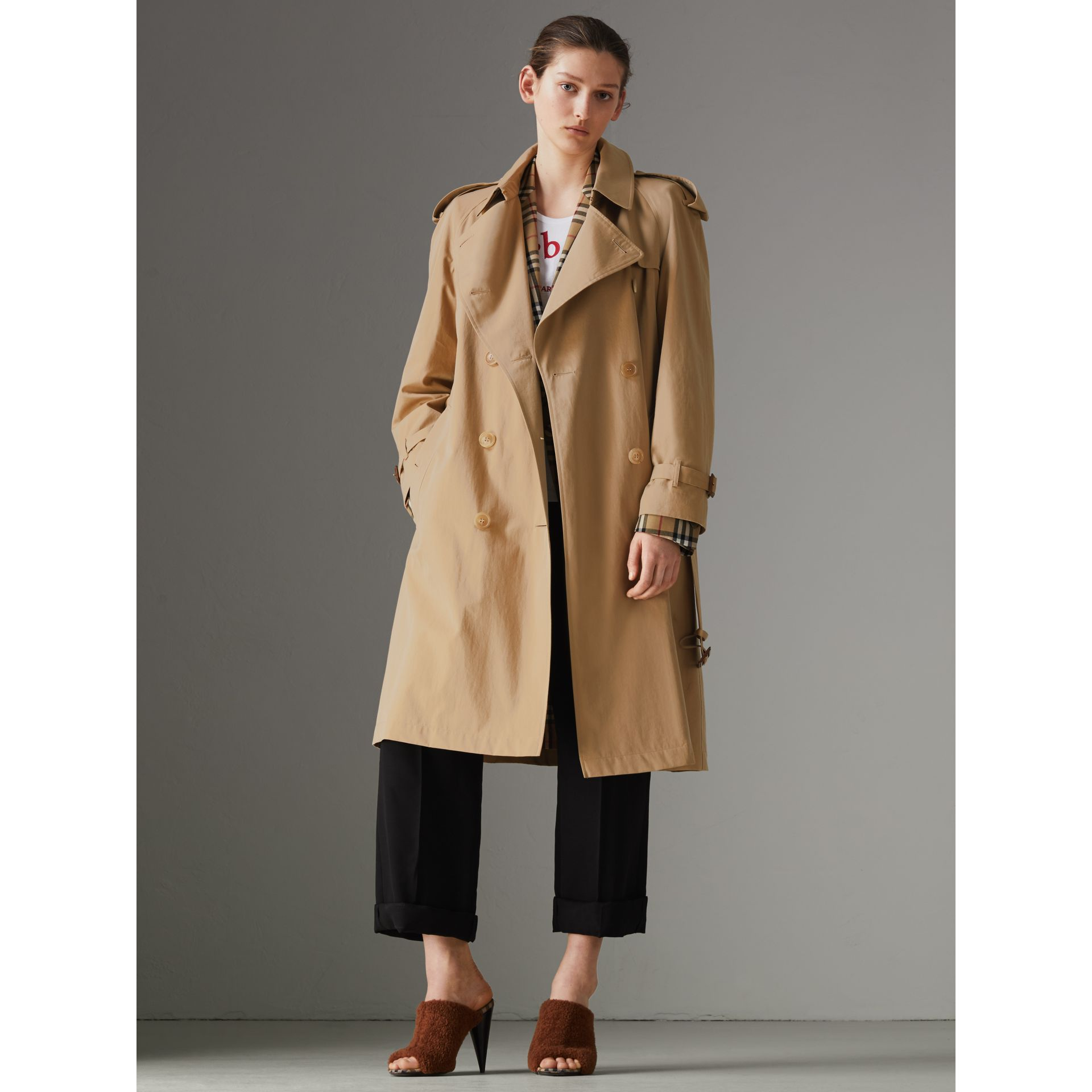 The Westminster – Trench Heritage (Miel) - Femme | Burberry Canada - photo de la galerie 5