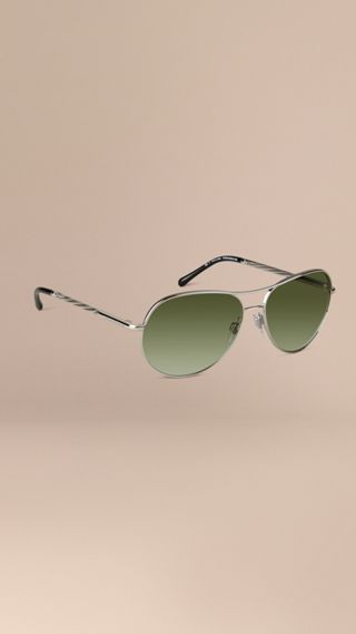 Gabardine Collection Aviator Sunglasses