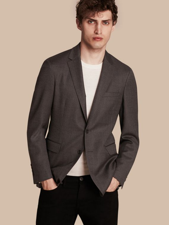 Modern Fit Tailored Wool Jacket