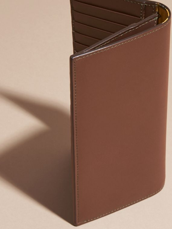 Sepia brown Smooth Leather Continental Wallet Sepia Brown - cell image 3