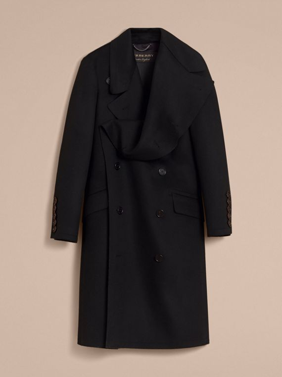 Military Wool Asymmetric Topcoat - Men | Burberry - cell image 3