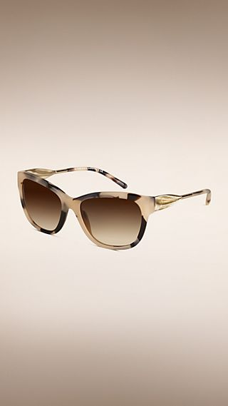 Gabardine Collection Cat-eye Sunglasses