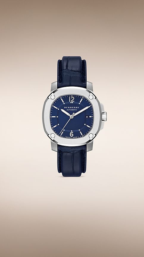 Navy blue The Britain BBY1205 43mm Automatic - Image 1
