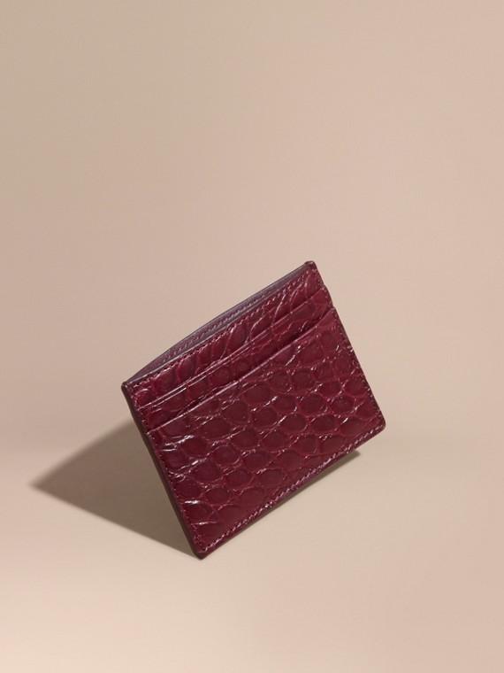Alligator Leather Card Case
