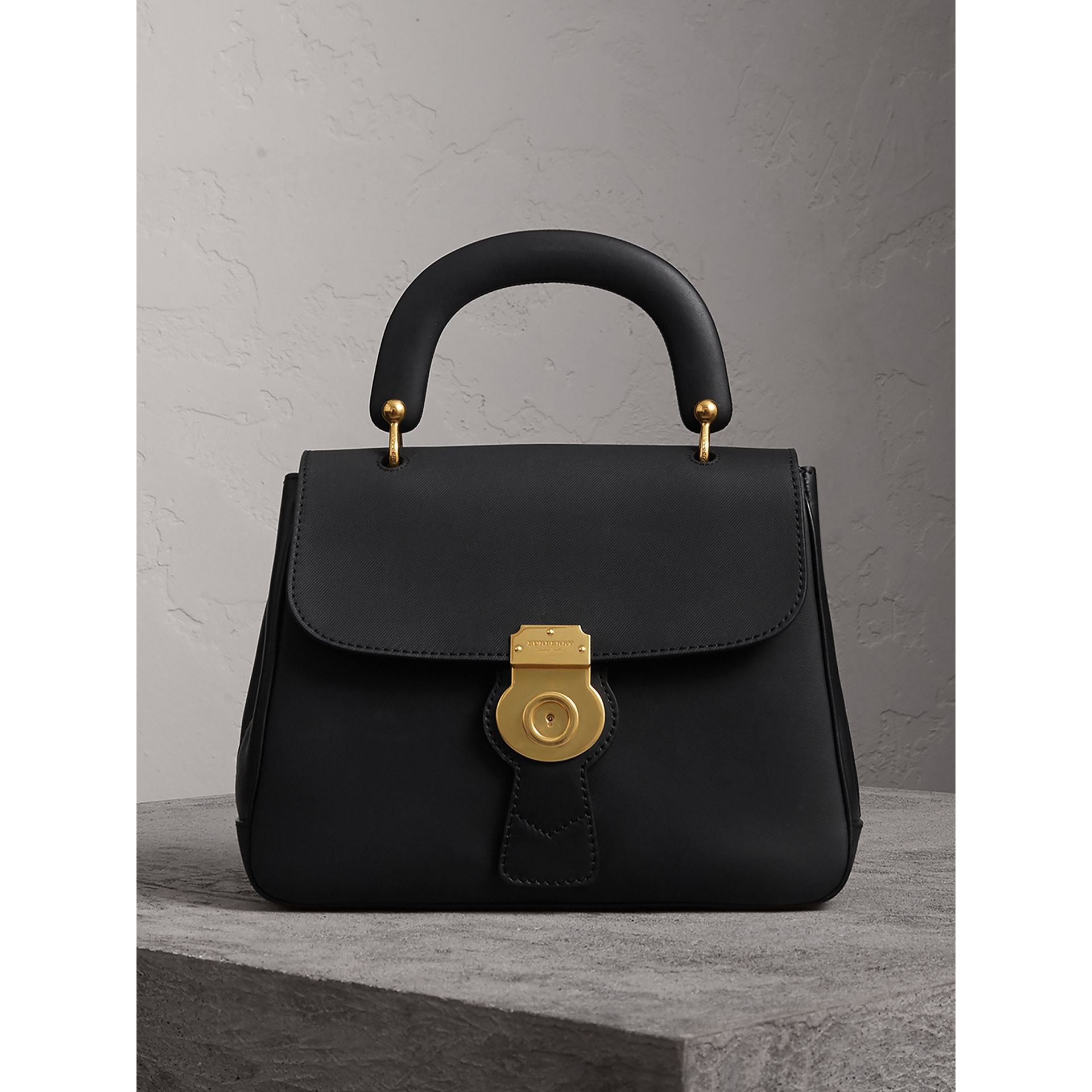 The Medium DK88 Top Handle Bag in Black - Women | Burberry - gallery image 0