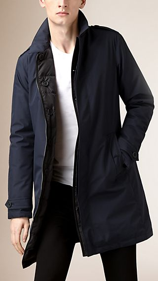 Reversible Down-Filled Car Coat