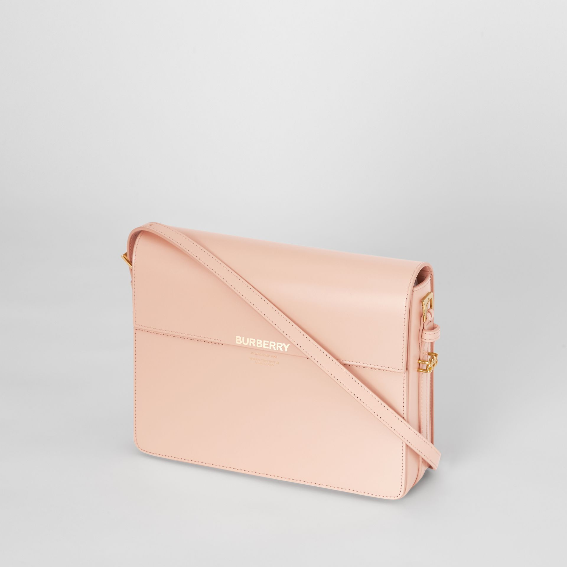Large Leather Grace Bag in Soft Blush - Women | Burberry United Kingdom - gallery image 3
