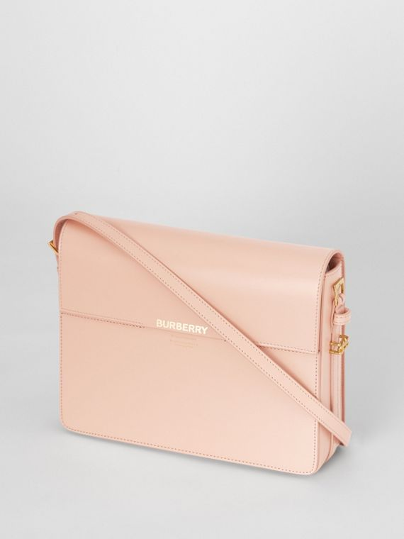 Large Leather Grace Bag in Soft Blush