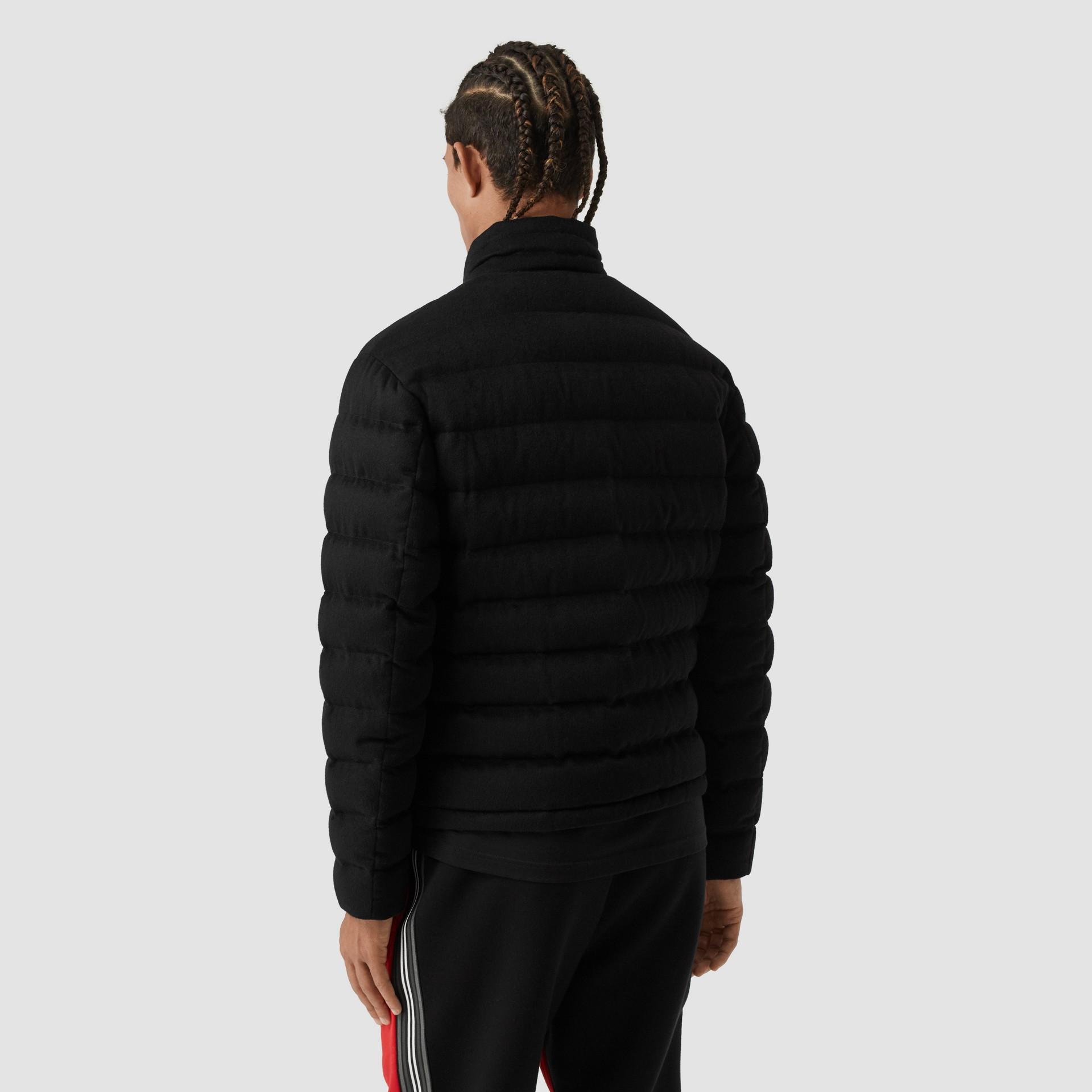 Lightweight Cashmere Puffer Jacket in Black - Men | Burberry United Kingdom - gallery image 2