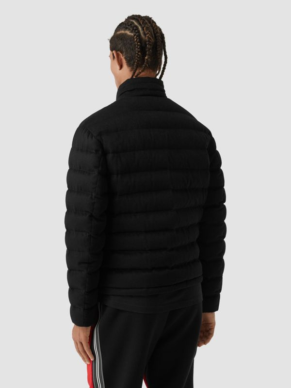 Lightweight Cashmere Puffer Jacket in Black - Men | Burberry United Kingdom - cell image 2