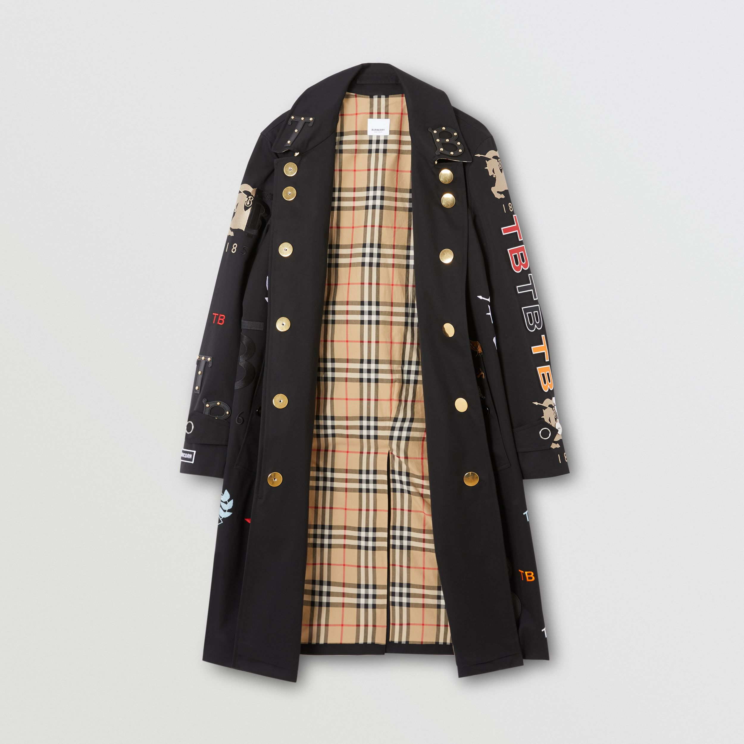 The Camden Car Coat in Black | Burberry - 1