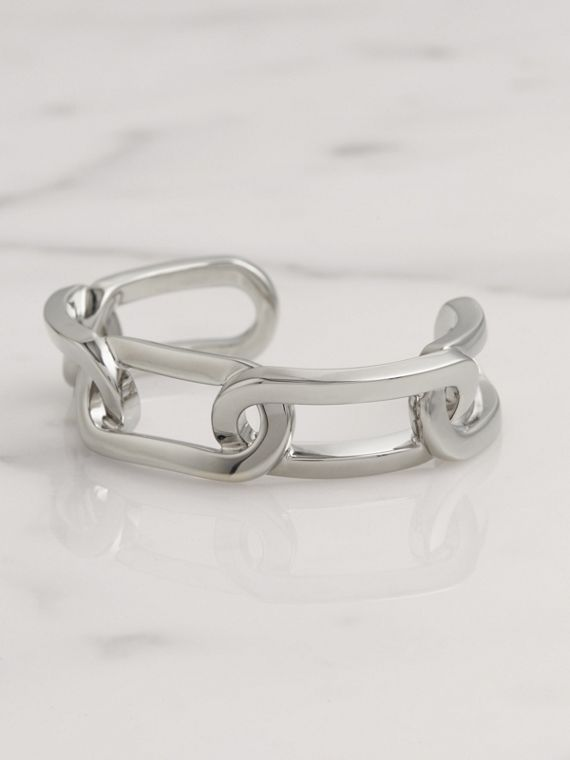 Palladium-plated Link Cuff in Palladio