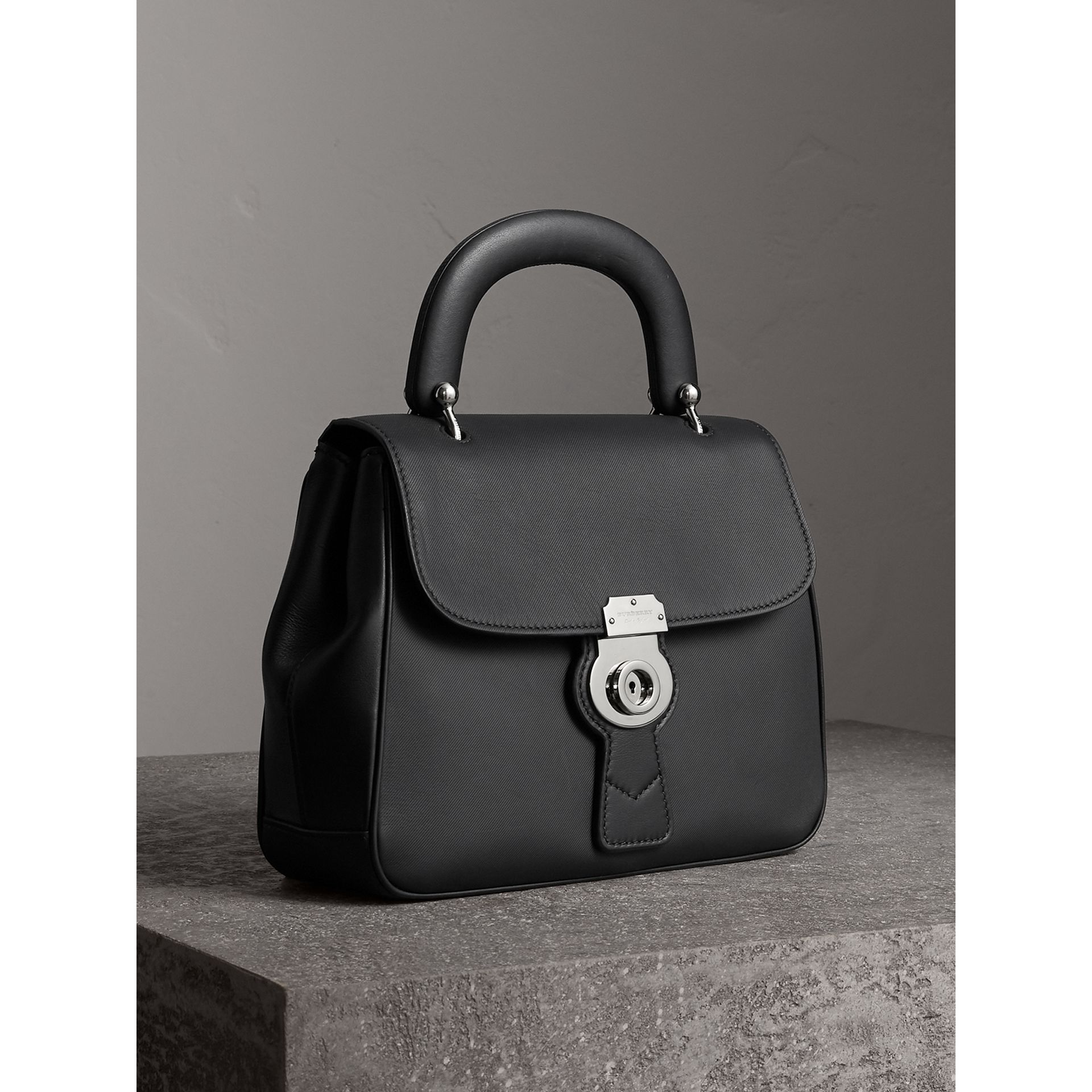The Medium DK88 Top Handle Bag in Black - Women | Burberry Australia - gallery image 6