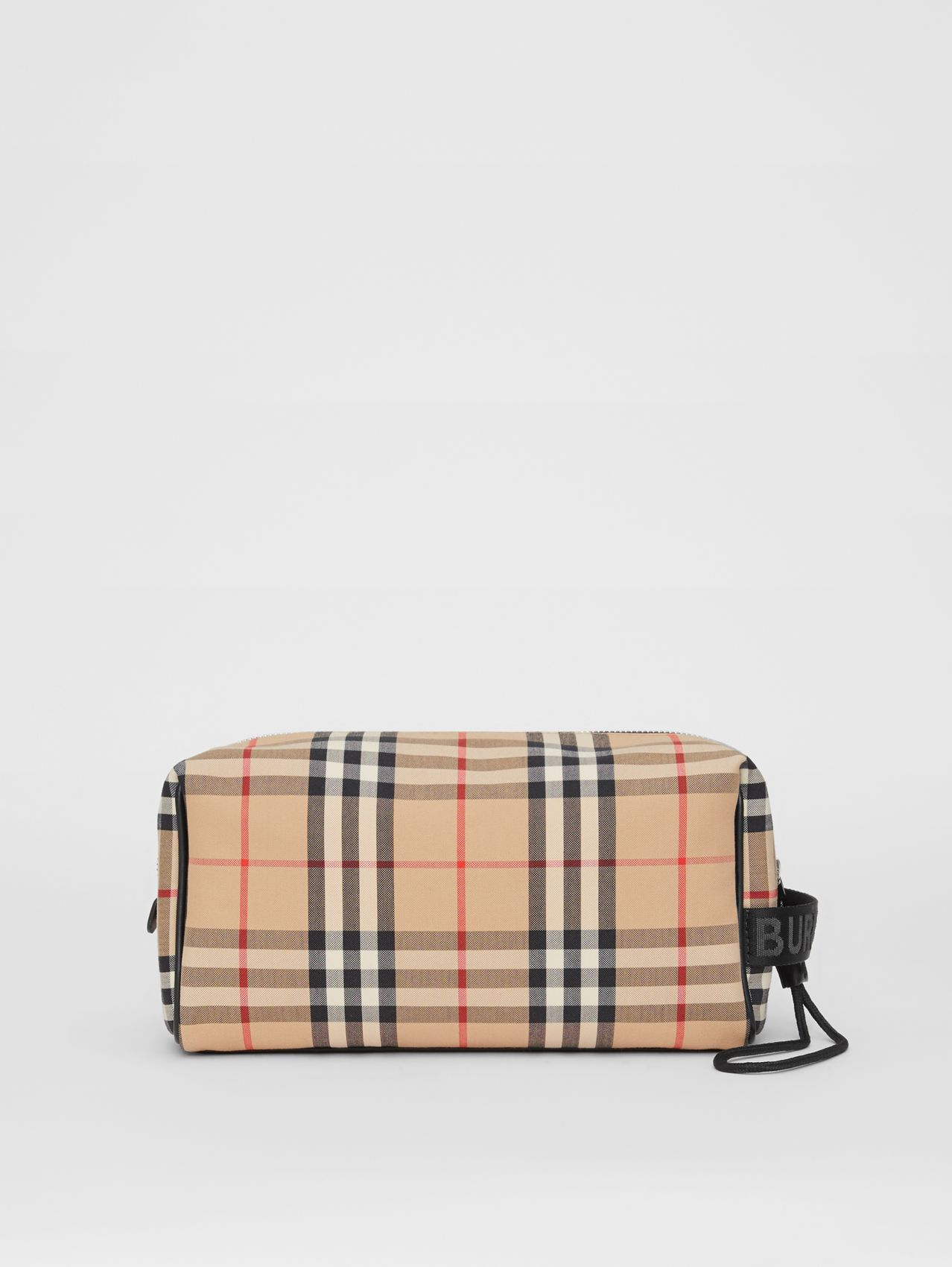 Vintage Check Travel Pouch (Archive Beige)