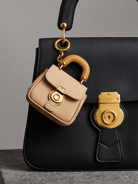The DK88 Charm in Honey/ochre Yellow | Burberry United Kingdom - cell image 2