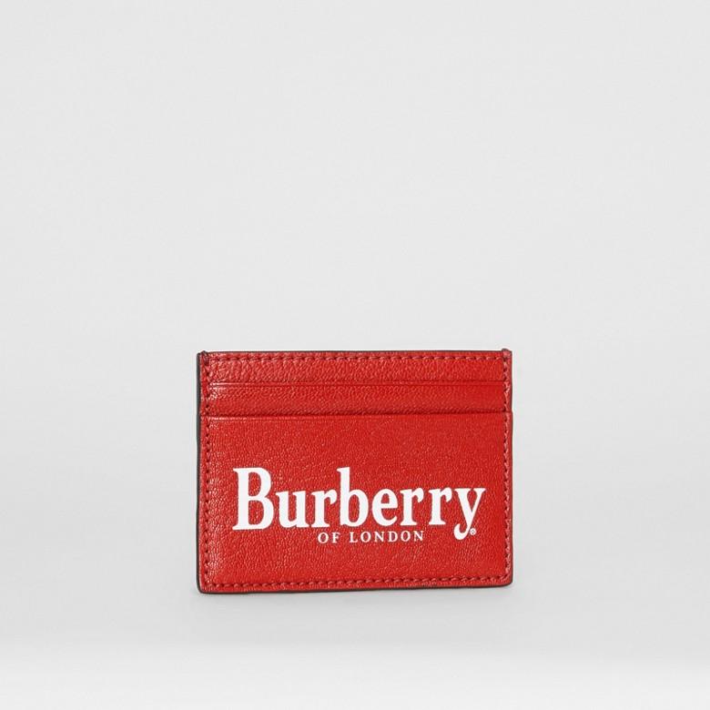 Burberry - Kartenetui aus Leder mit Burberry-Logo - 4
