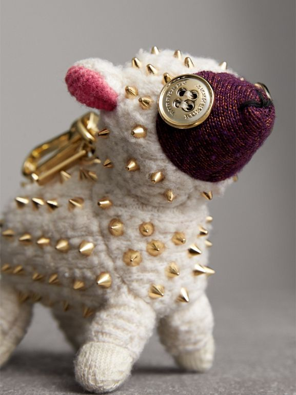 Adorno de cashmere Wendy The Sheep (Branco) | Burberry - cell image 1