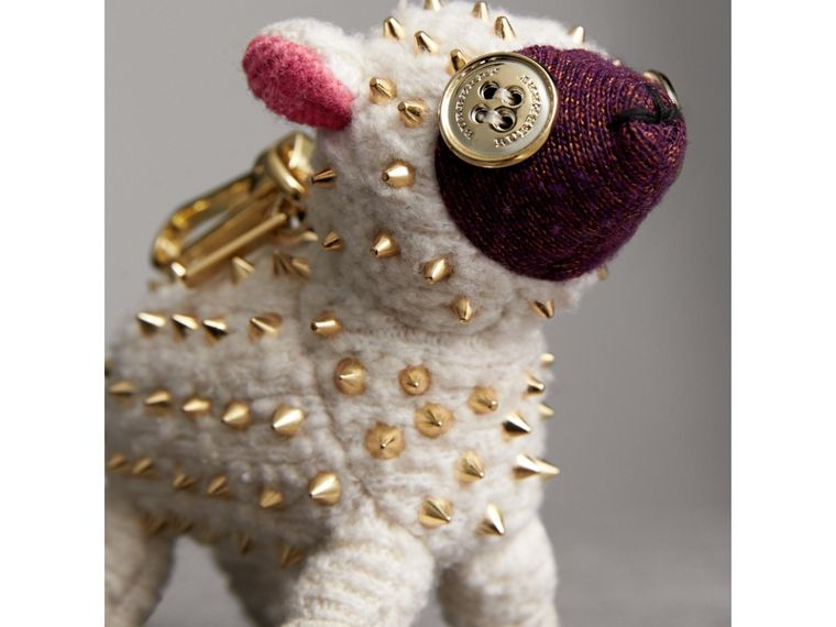 Wendy The Sheep Cashmere Charm in White | Burberry - cell image 1