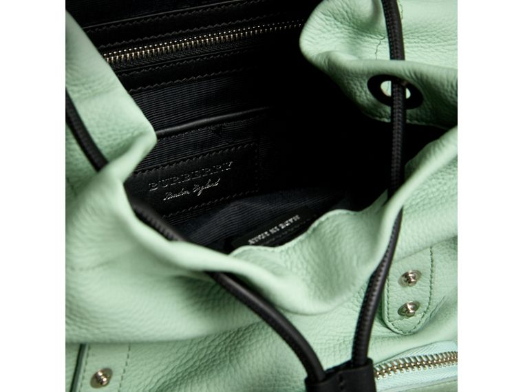 The Medium Rucksack in Deerskin with Resin Chain in Spearmint - Women | Burberry United States - cell image 4