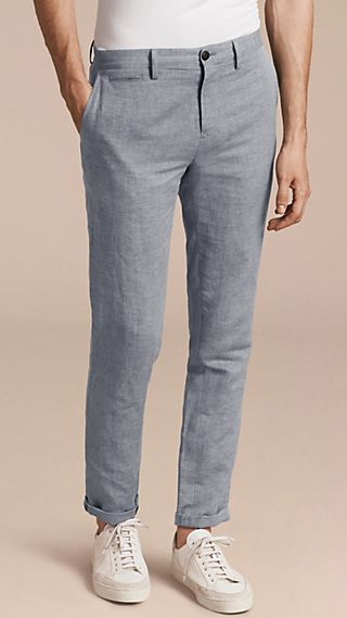 Linen Cotton Chinos