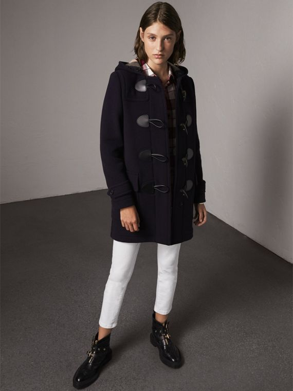 The Mersey Duffle Coat in Navy