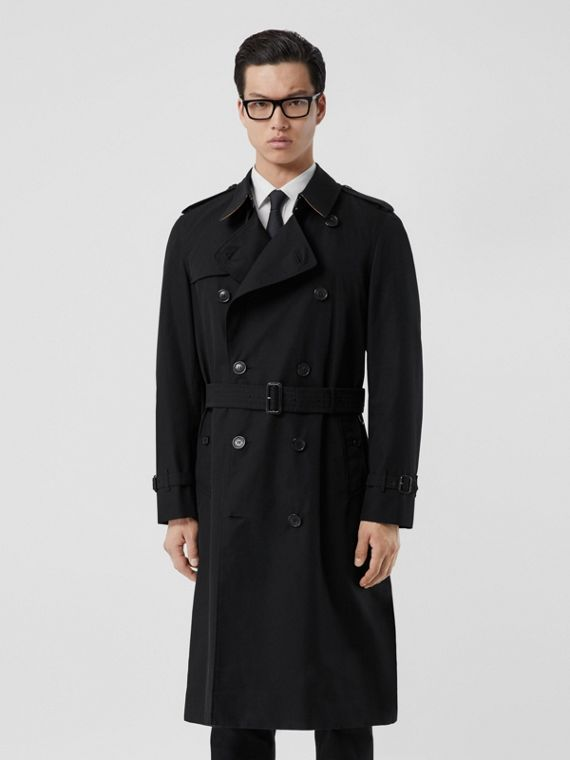 Trench coat Heritage The Chelsea lungo (Nero)