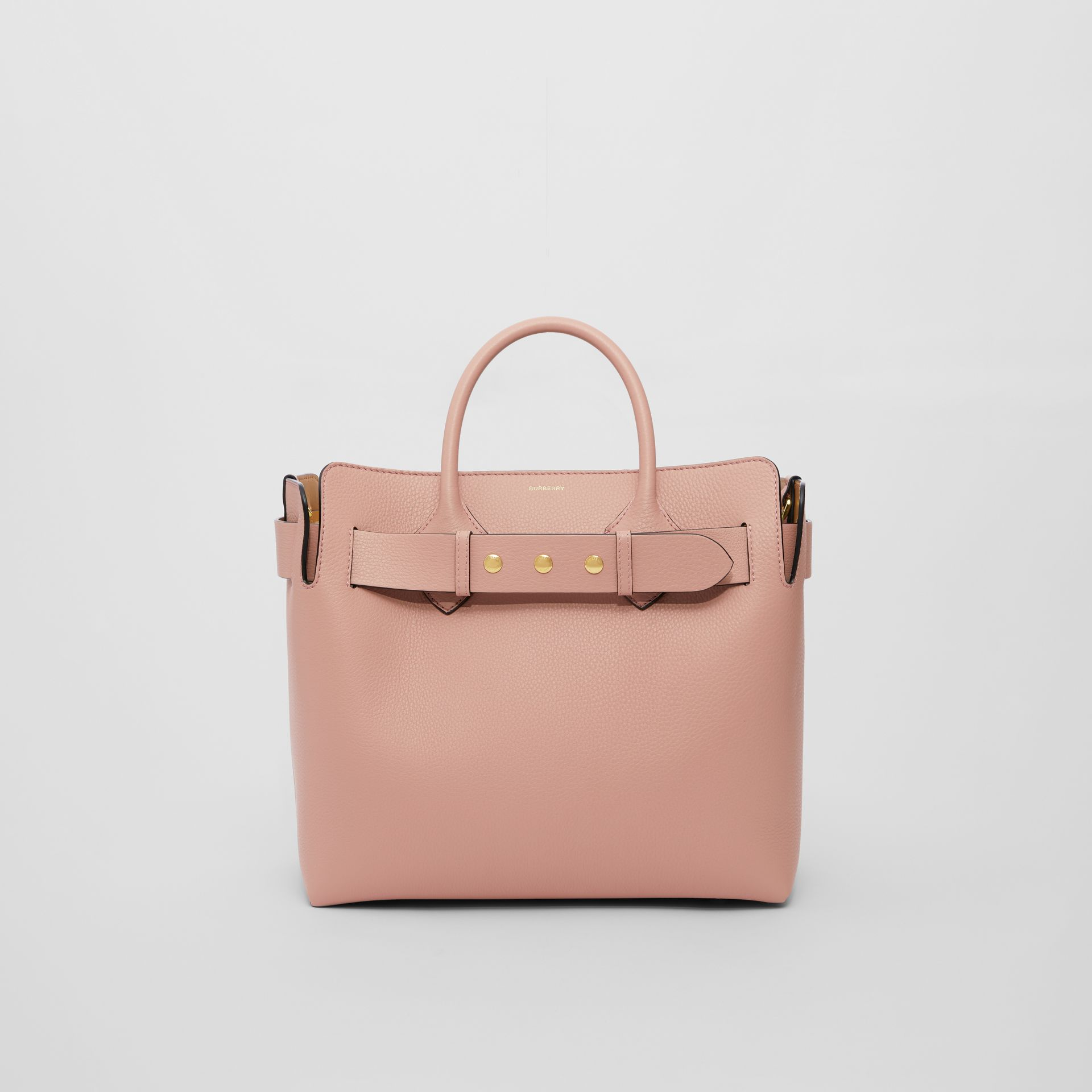 The Medium Leather Triple Stud Belt Bag in Ash Rose - Women | Burberry United States - gallery image 0