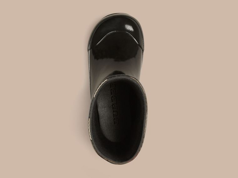 Black House Check Rain Boots - cell image 1