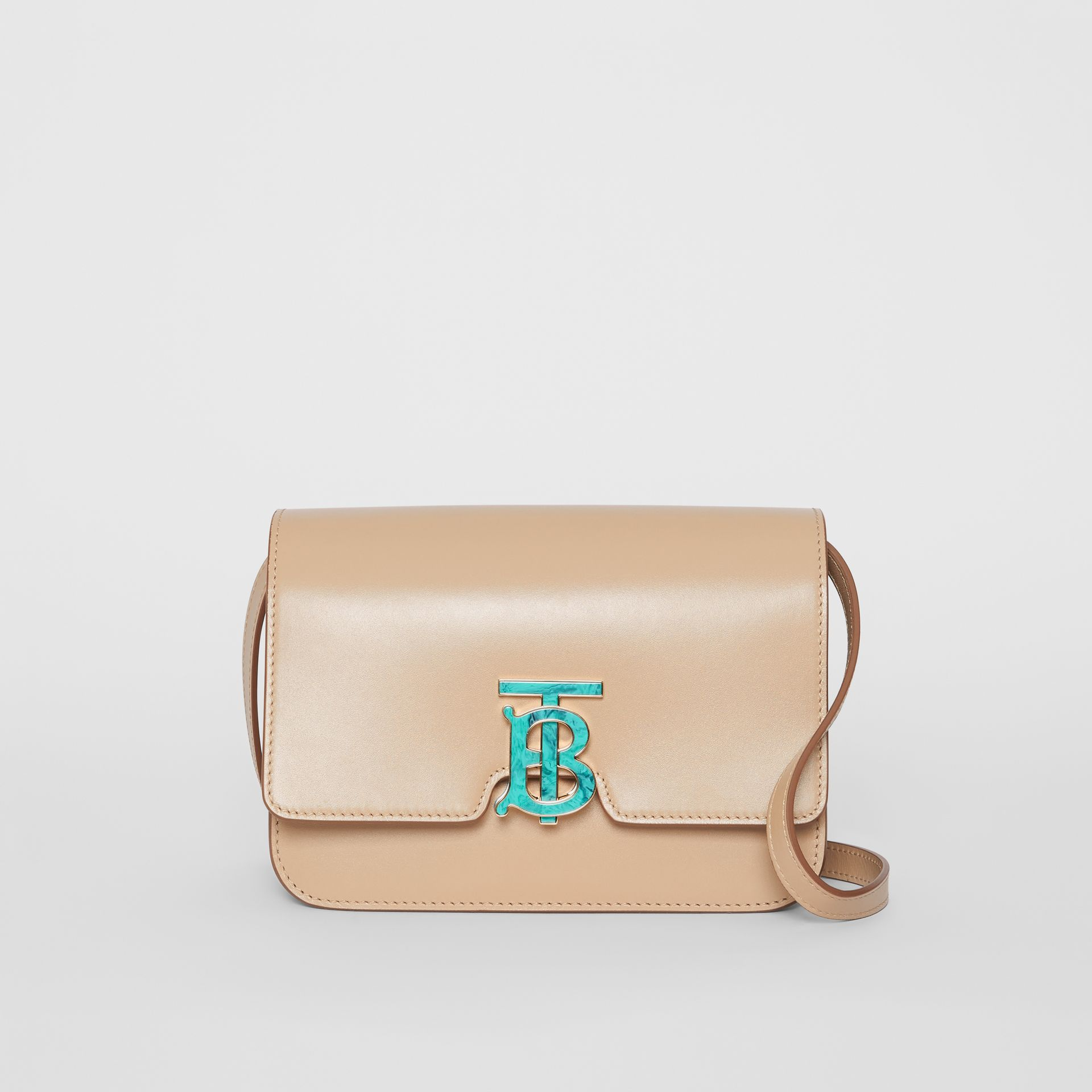 Small Leather TB Bag in Honey - Women | Burberry United Kingdom - gallery image 0