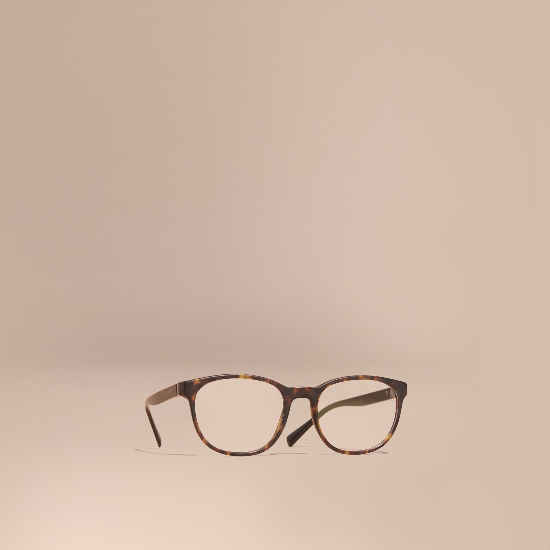Tortoise shell Square Optical Frames Tortoise Shell - gallery image 1