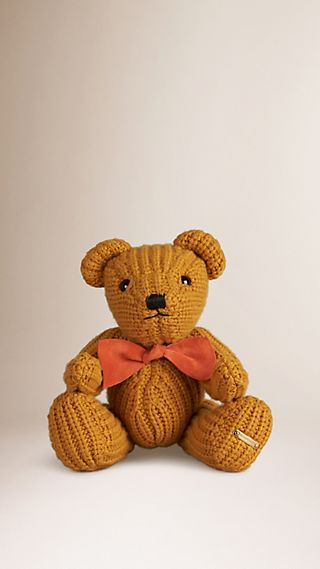Thomas Bear in Knitted Cashmere