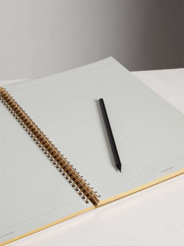 A4 Notebook Refill in Honey | Burberry - cell image 3