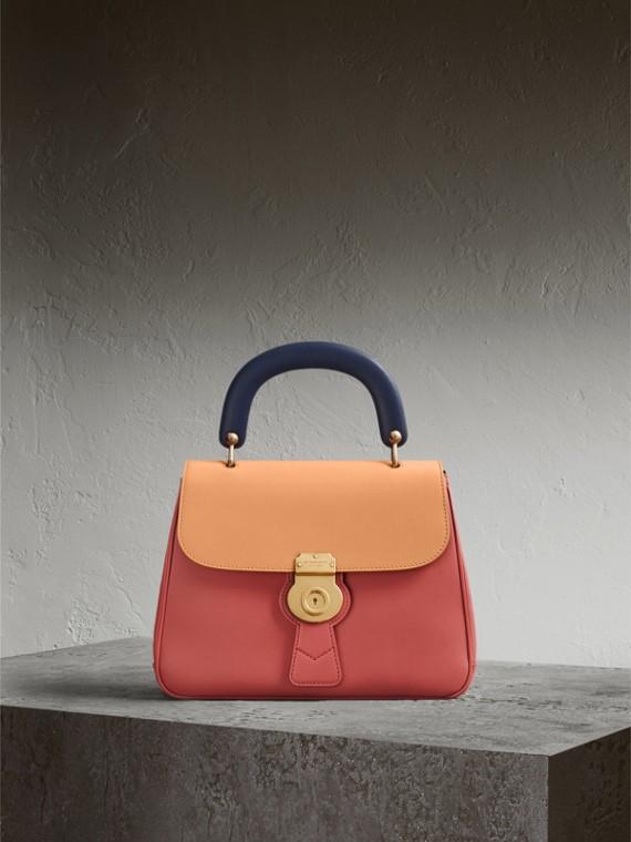 La borsa con manico DK88 media Rosa Floreale/clementina Pallido