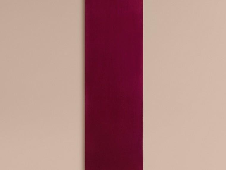 Cachecol clássico de cashmere (Ameixa) | Burberry - cell image 1