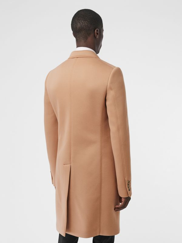 Neoprene Tailored Coat in Beige | Burberry United Kingdom - cell image 2