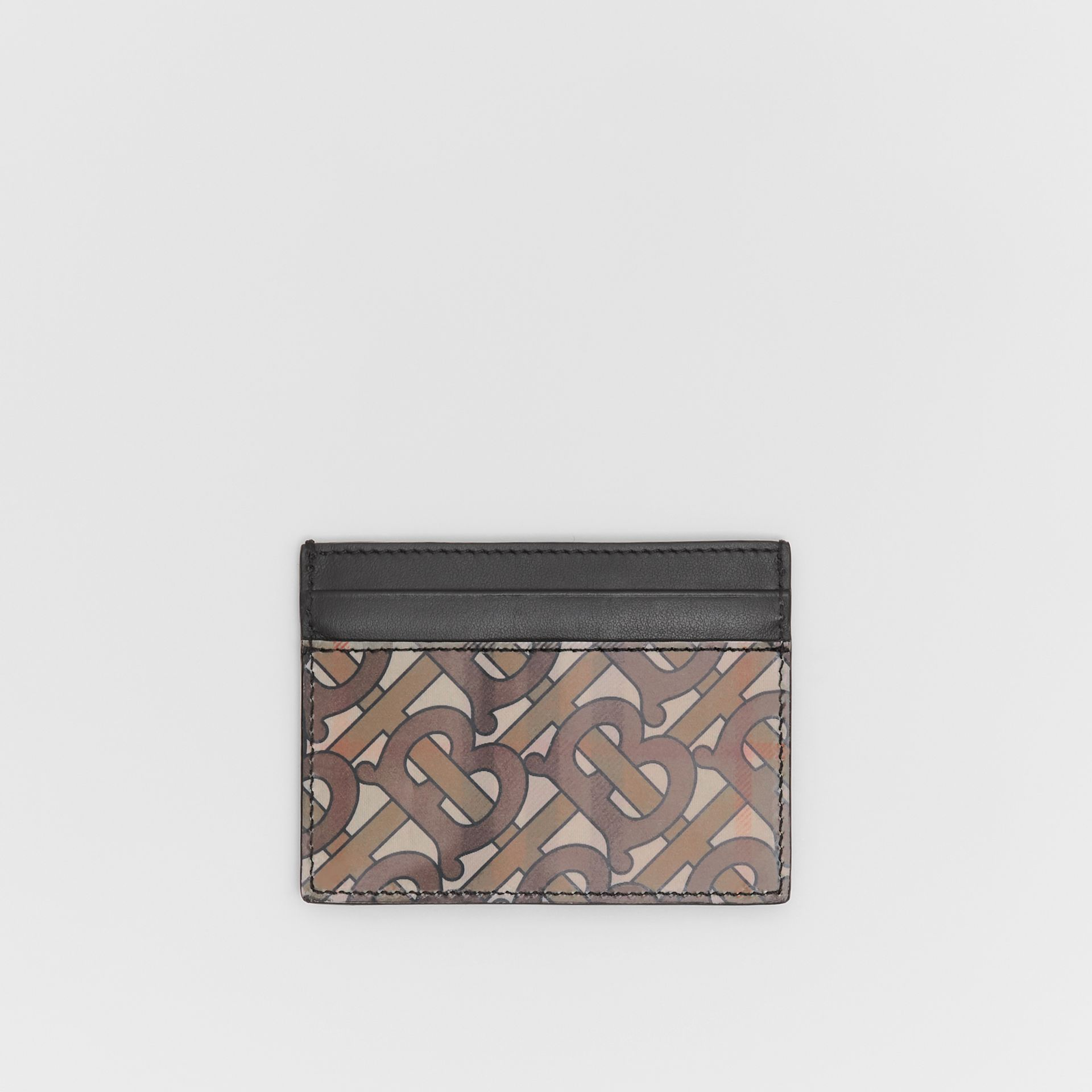 3D Print Card Case in Archive Beige - Men | Burberry United Kingdom - gallery image 0