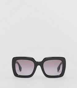 644eaf09a Oversized Square Frame Sunglasses in Black