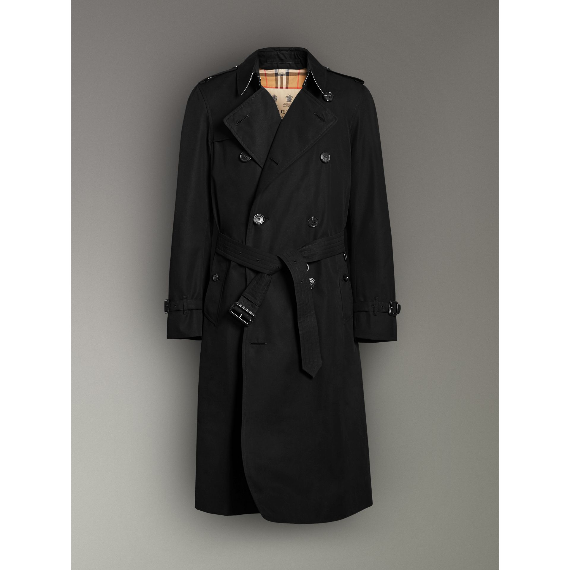 The Chelsea – Trench Heritage long (Noir) - Homme | Burberry Canada - photo de la galerie 3