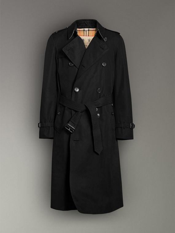 The Chelsea – Trench Heritage long (Noir) - Homme | Burberry Canada - cell image 3