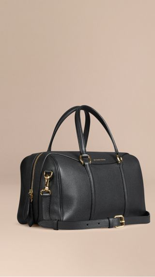 Sac The Alchester medium en cuir grené