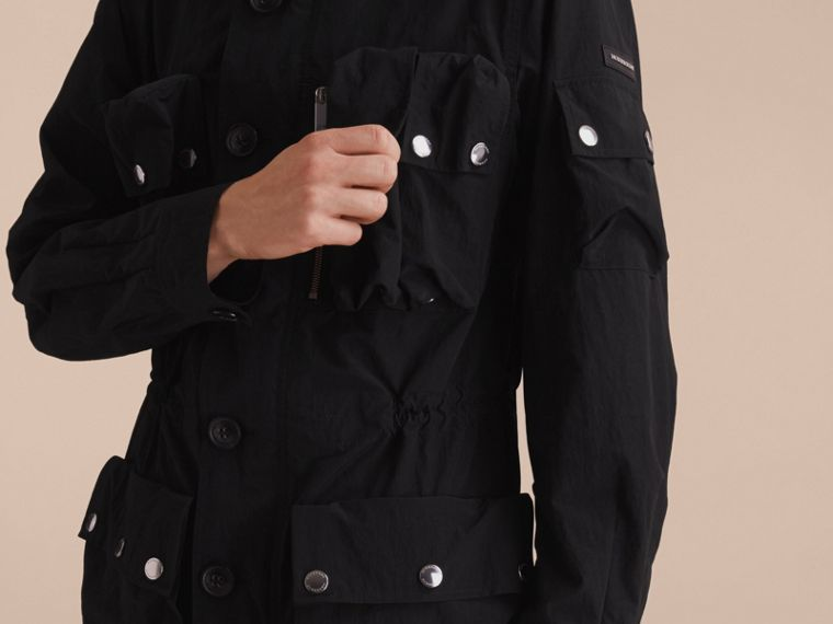 Hooded Technical Field Jacket - cell image 4