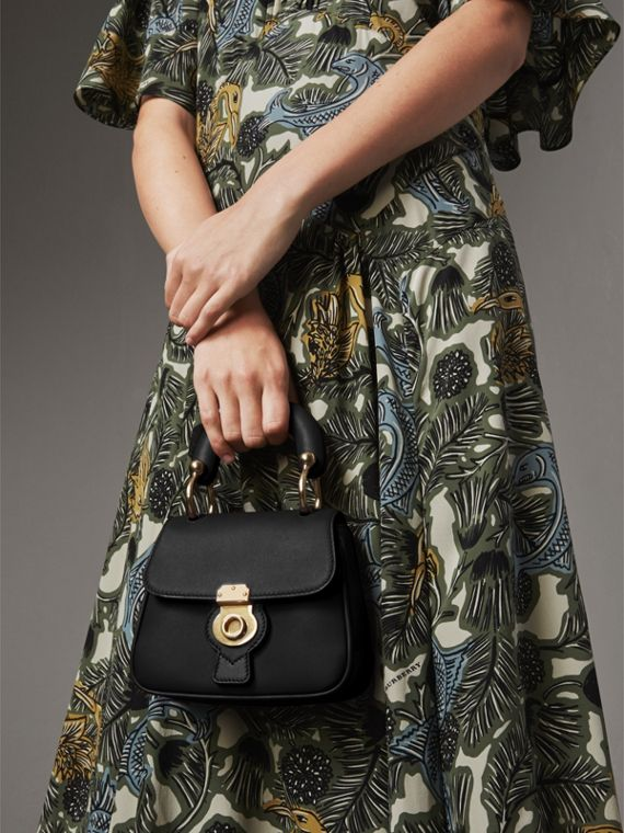 The Mini DK88 Top Handle Bag in Black - Women | Burberry - cell image 3