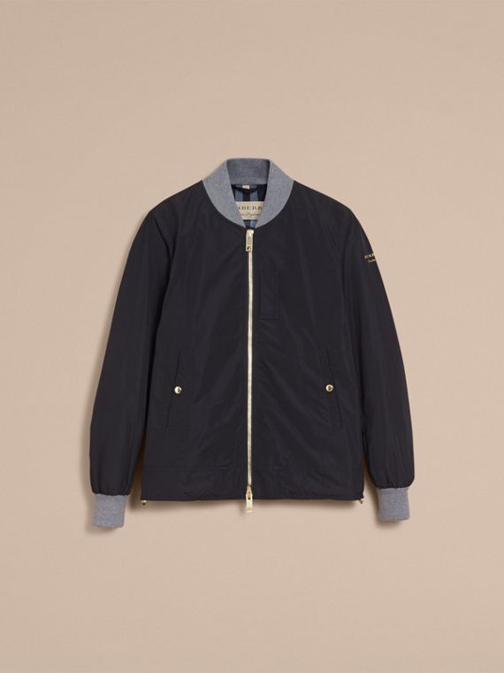 Shape-memory Taffeta Bomber Jacket - Men | Burberry - cell image 3