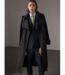 Cashmere Coats for Men | Burberry United Kingdom
