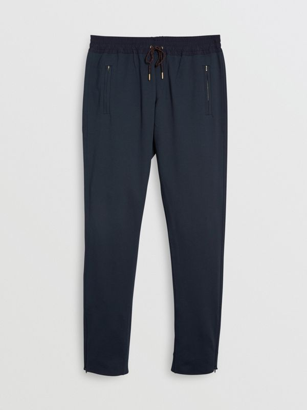 Cotton Sweatpants in Navy - Men | Burberry United Kingdom - cell image 3